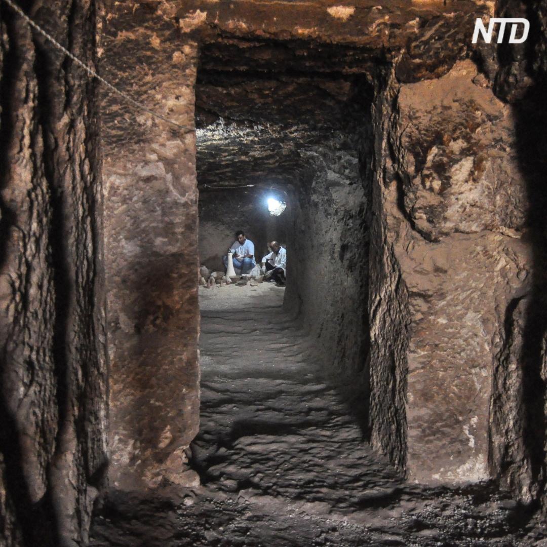 Одну из крупнейших гробниц Египта представили в Луксоре