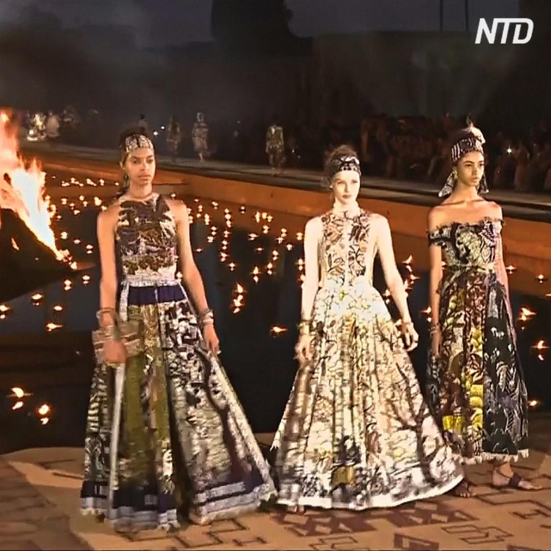 Показ Dior впервые прошёл в Марокко