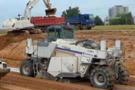 Технология стабилизации грунтов в дорожном строительстве