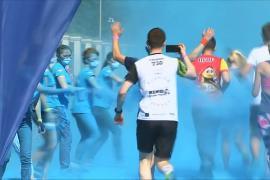 В краске, но не в обиде: москвичи встретили лето массовым забегом