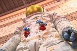 В США к 50-летию высадки на Луну сделали статую скафандра Нила Армстронга