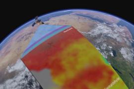 Спутники мониторят опасное для здоровья загрязнение воздуха