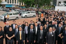 Тысячи адвокатов Гонконга протестуют против закона об экстрадиции