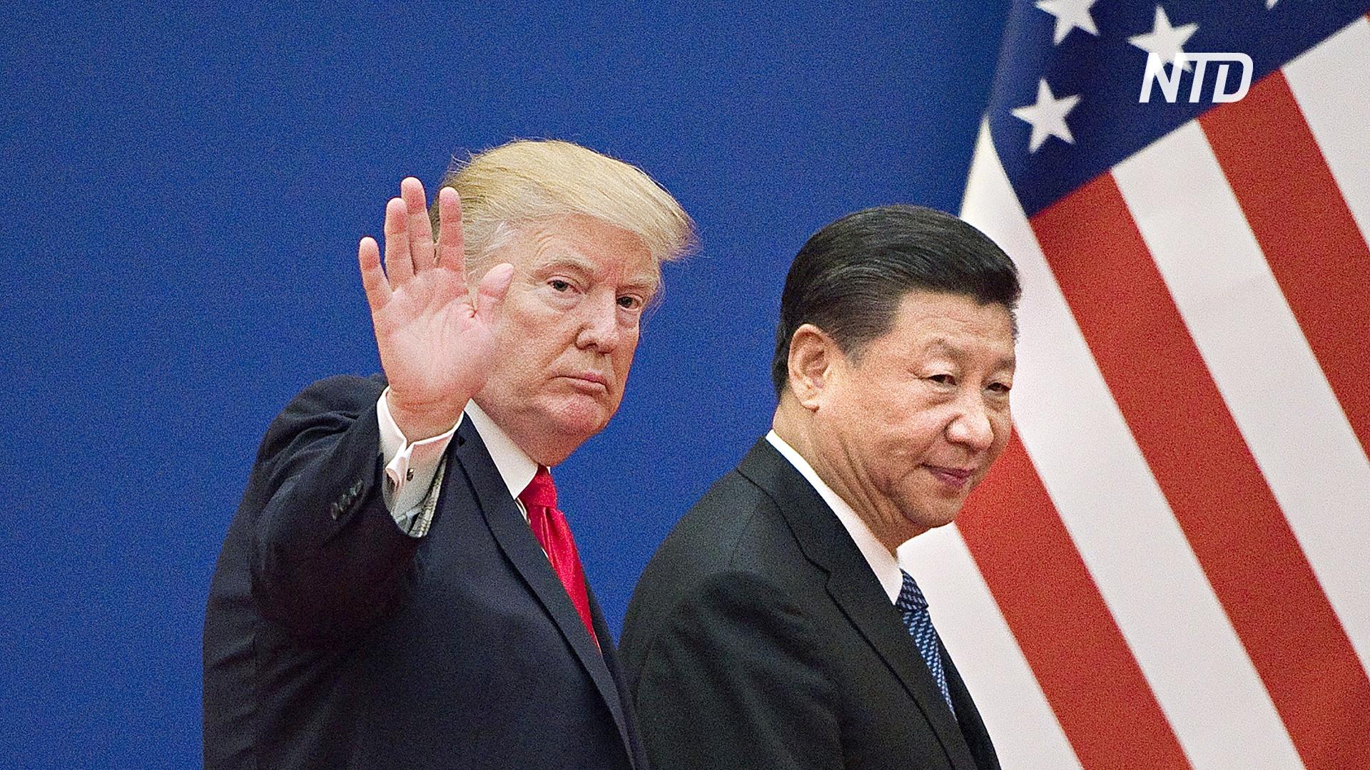 Трамп грозит Китаю новыми пошлинами