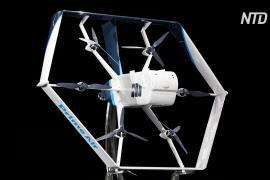Amazon обещает в ближайшие месяцы запустить доставку дронами