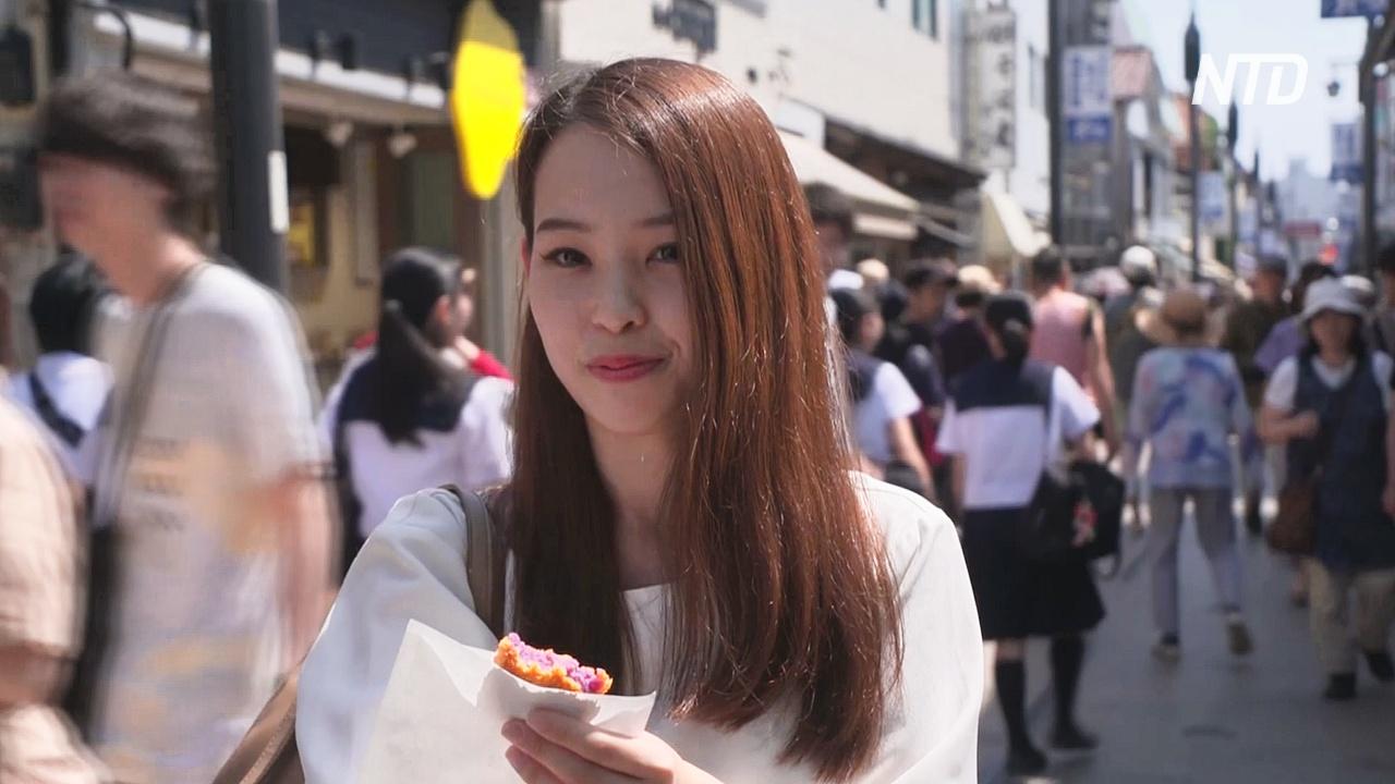 В японском городе Камакура туристам запретили есть на ходу