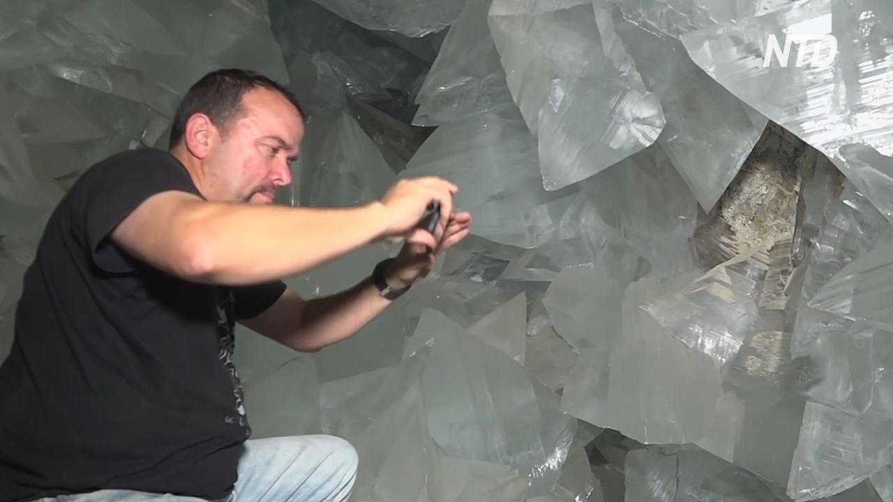 В Испании для туристов откроют потрясающую пещеру кристаллов