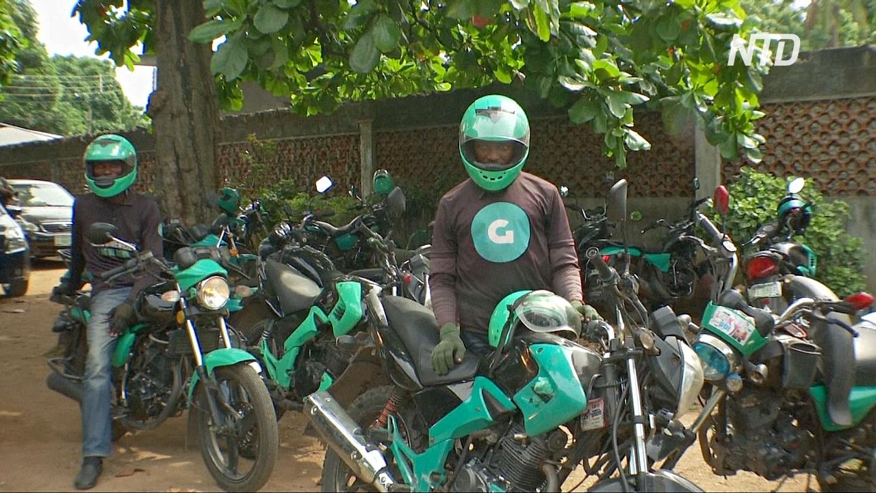 Услуги мототакси захватывают рынок Западной Африки