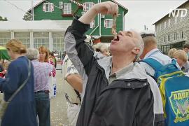 Есть селёдку по-голландски поучили гостей фестиваля в Переславле-Залесском