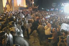 В Тбилиси наводят порядок после ночных столкновений