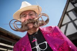 Совершенство в каждом волоске: чемпионат французских бородачей в Париже