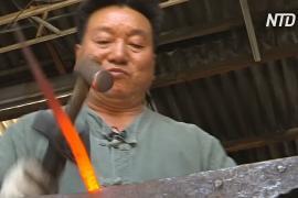 Пожилой южнокорейский кузнец спас свой бизнес, начав продажи онлайн