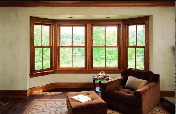 Лучше деревянные окна