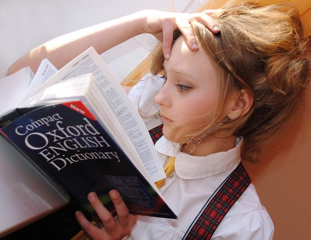 Девочка со словарем