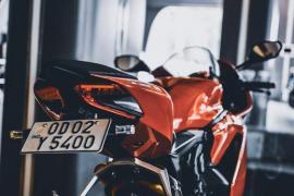 Заказать новый номерной знак на мотоцикл