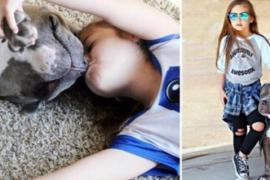 Девочка с питбулем завоевала сердца подписчиков Instagram