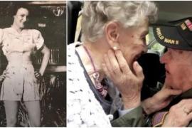 Влюблённые встретились через 75 лет разлуки