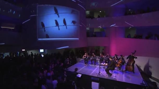 Как звучит песня, созданная по фото птиц на проводах