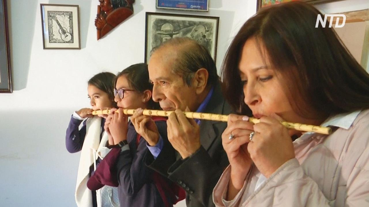 Смесь гитары и флейты: боливийский музыкант создаёт уникальные инструменты