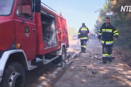 Лесной пожар в Хорватии: эвакуировано около 10 тысяч участников музыкального фестиваля