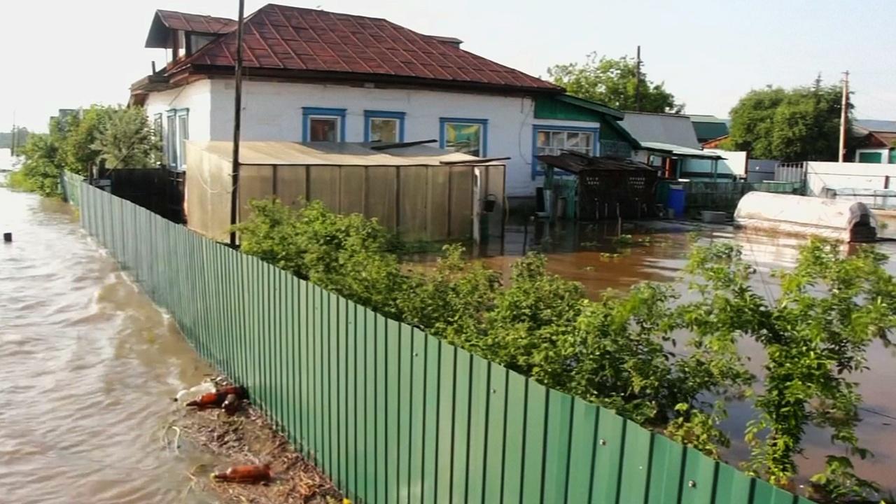 Ситуация с наводнением в Иркутской области не улучшается