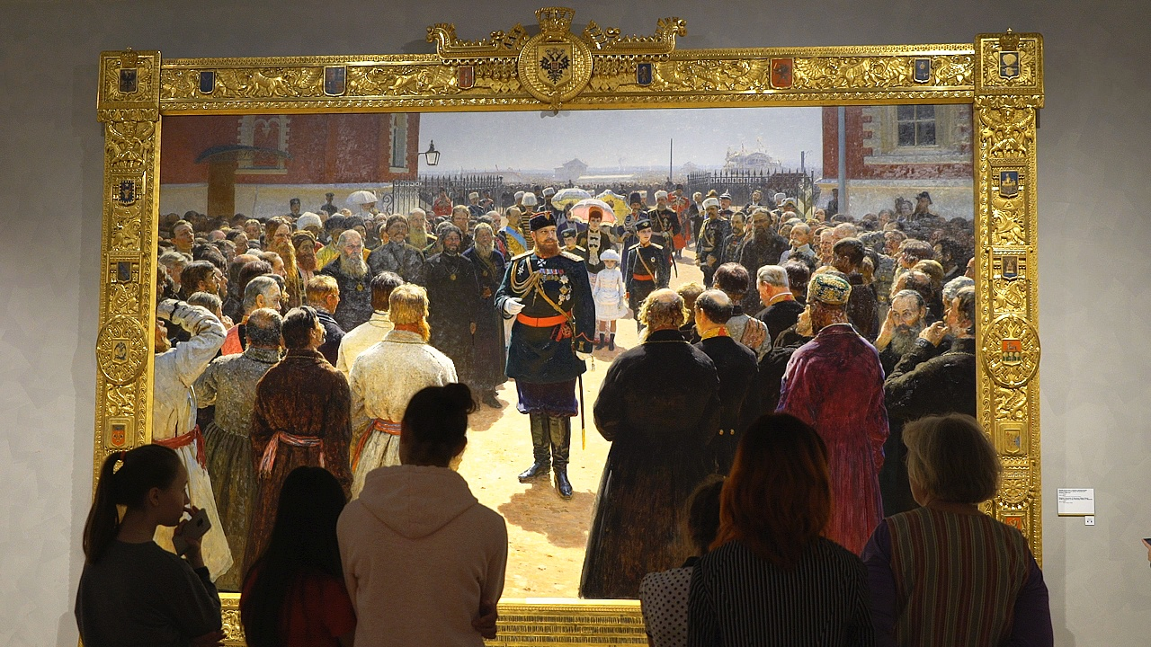 Илья Репин в Третьяковской галерее: главная выставка 2019 года