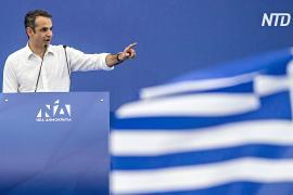 Греческие консерваторы надеются победить левых на выборах в парламент