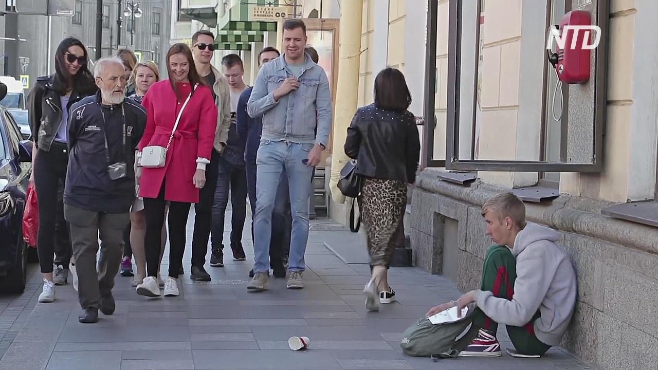 Бывший бездомный стал популярным гидом по Санкт-Петербургу