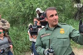 Пограничники США показали участок границы, который чаще всего переходят нелегалы