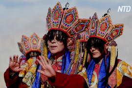 Древний танец монахов: буддистский фестиваль в Гималаях