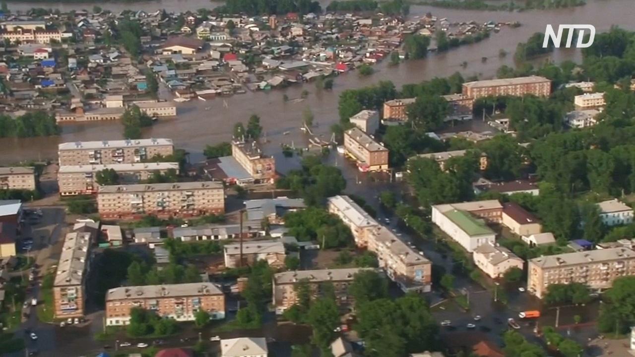 Жители Иркутской области жалуются, что их не предупредили о масштабах наводнения