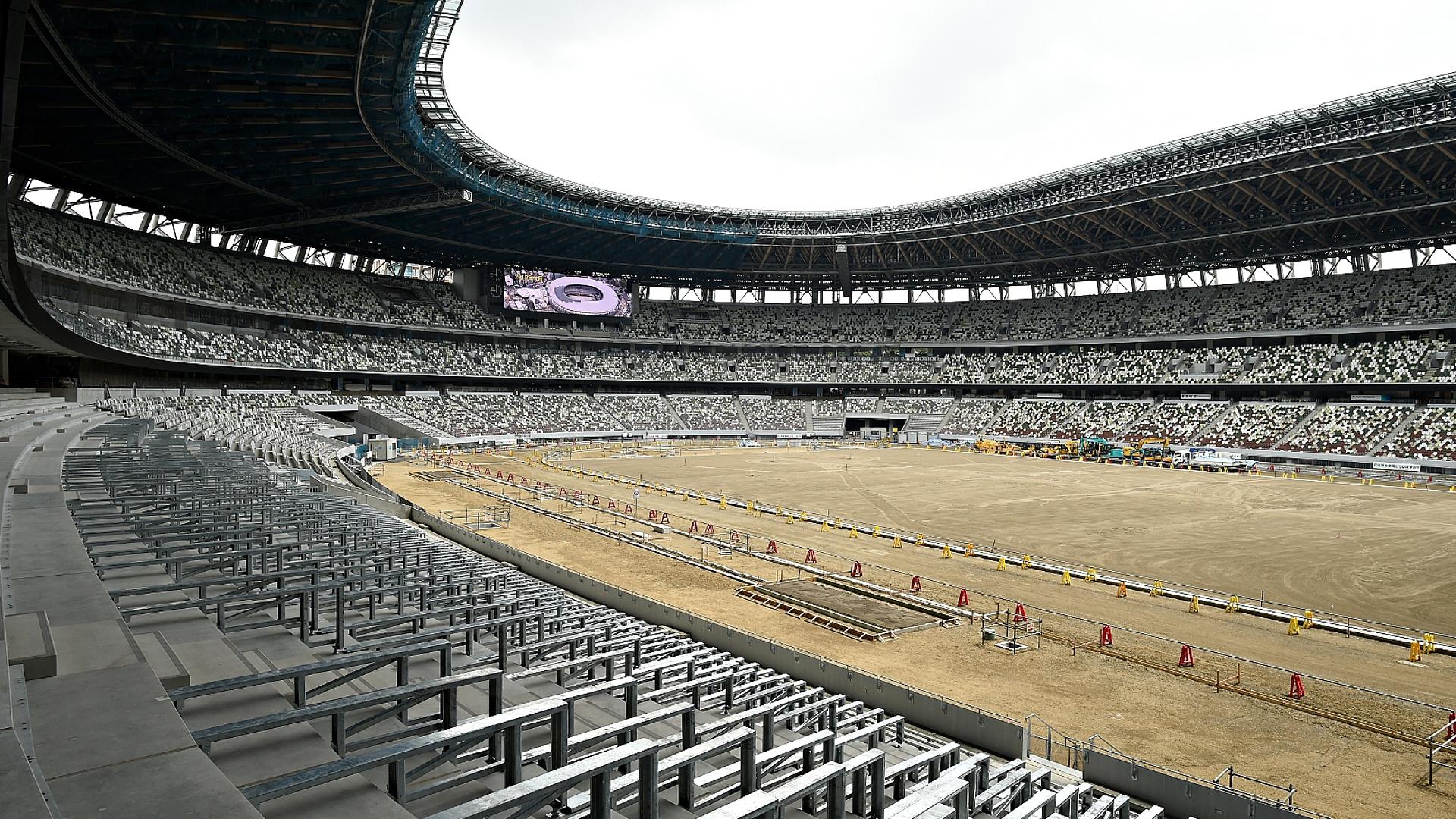Строительство Олимпийского стадиона в Токио завершено на 90%