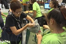 Тайская сеть супермаркетов сделала одноразовые пакеты платными