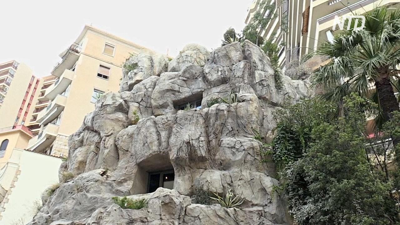 В Монако появилась вилла в скале в шесть этажей