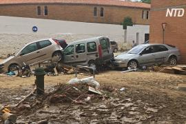 Внезапное наводнение на севере Испании: один погибший