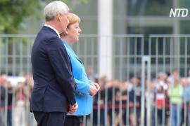 У Ангелы Меркель – третий приступ дрожи за три недели