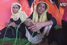 Беженцы снова вынуждены бежать: наводнения в лагерях рохинджа в Бангладеш
