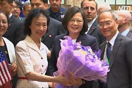Президент Тайваня пробудет в США четыре дня вместо двух