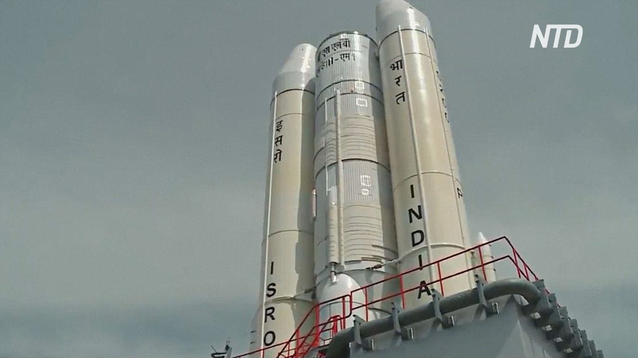 Запуск индийского лунохода приостановили