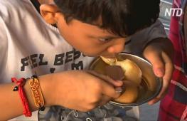 В индийском городе отметили день популярного десерта
