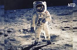 Проекция ракеты и скафандр из кубиков Lego: в мире отмечают 50-летие первой высадки на Луну