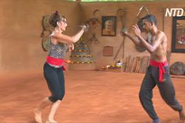 Древнее индийское боевое искусство помогает духовно развиваться
