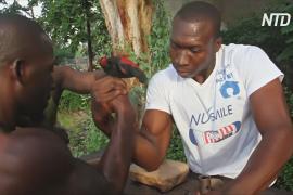 Африканцы всё чаще увлекаются армрестлингом