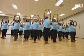 Танцевальный лагерь в США помогает детям найти себя