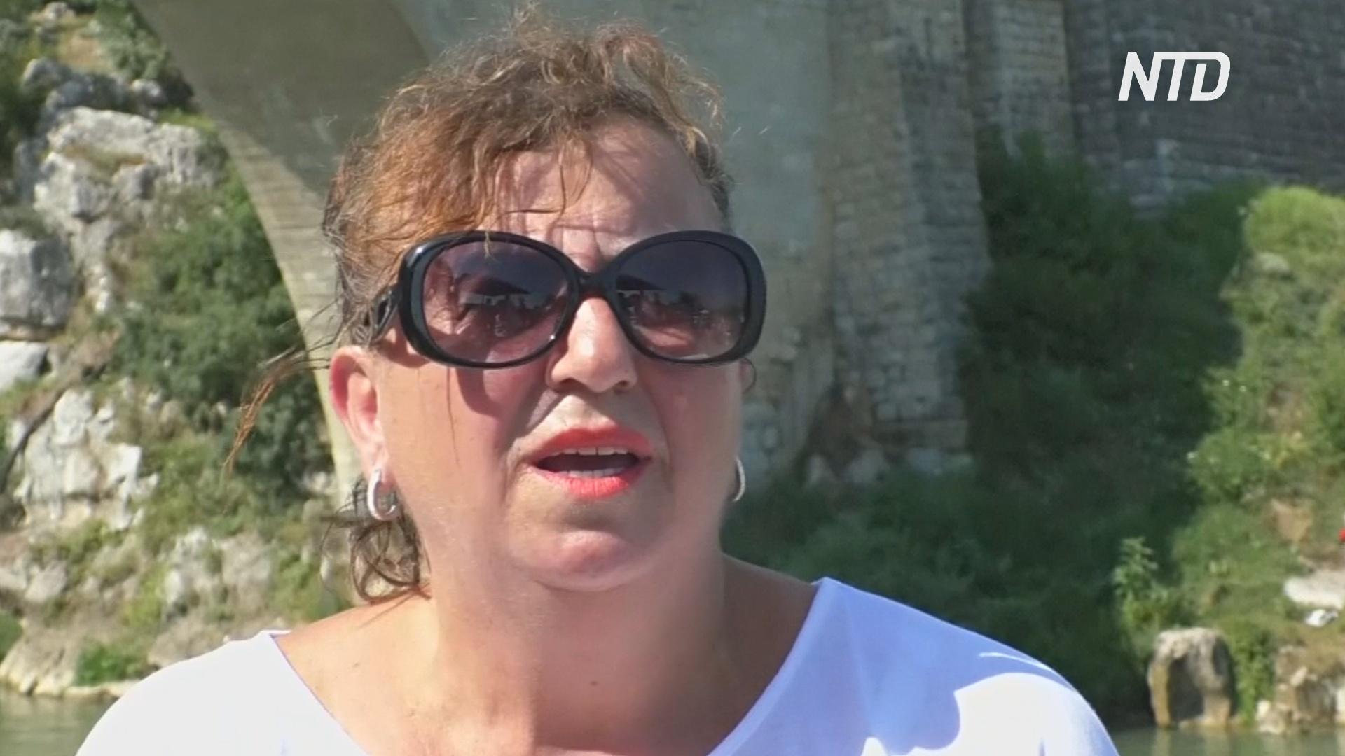 Первая женщина-хайдайвер бывшей Югославии не забывает о своём увлечении