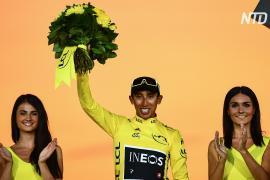 Слёзы радости: колумбийцы отмечают победу соотечественника в «Тур де Франс»