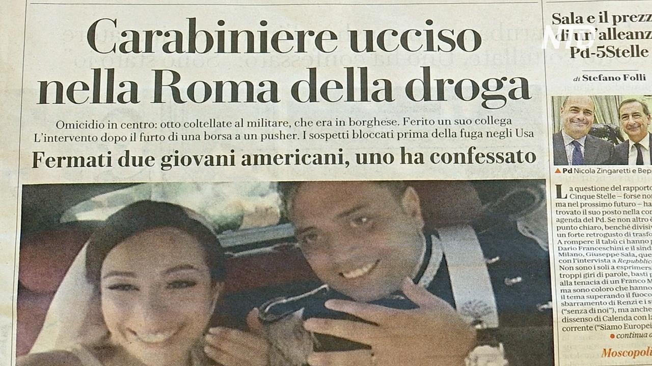 Убийство полицейского потрясло жителей Рима