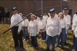 Хор пенсионеров спел в тюрьме песню Боба Дилана