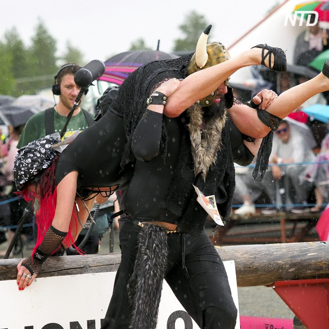 Как в Финляндии бегали с жёнами на шее