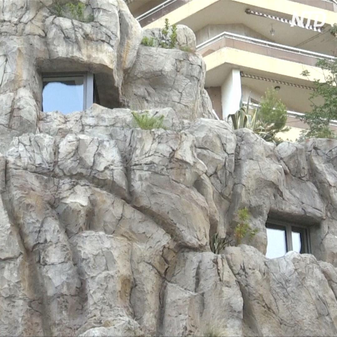 Шестиэтажная вилла, выдолбленная в скале, – изюминка Монако